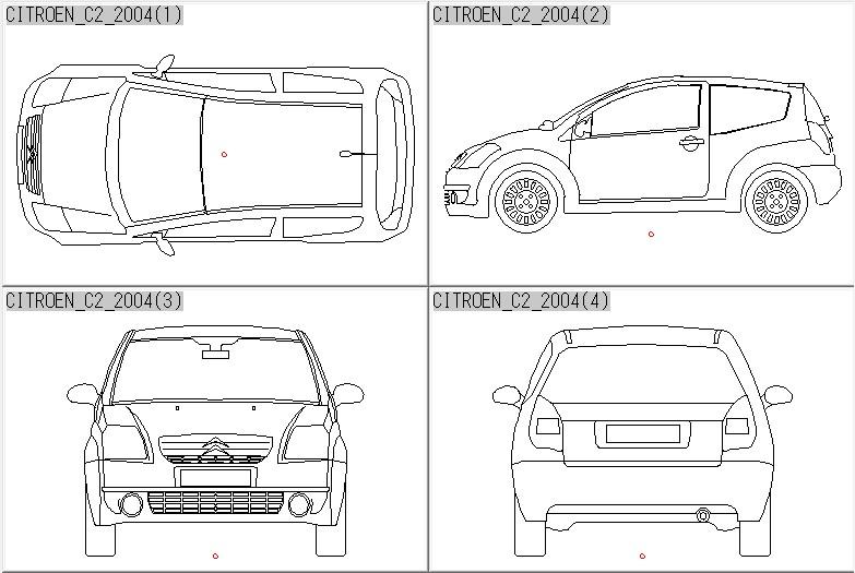 自動車・乗用車・普通車・車両 3Dcad | 2Dcad・3Dcad・イラスト写真のデータ集。車両、人物、樹木、添景